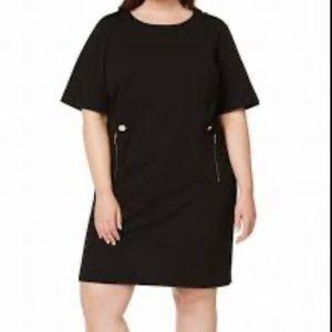 Calvin Klein Plus Size Zipper Trim Dress Sz 20
